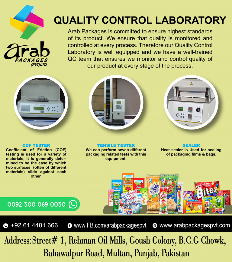 Read more about the article QUALITY CONTROL LABORATORY